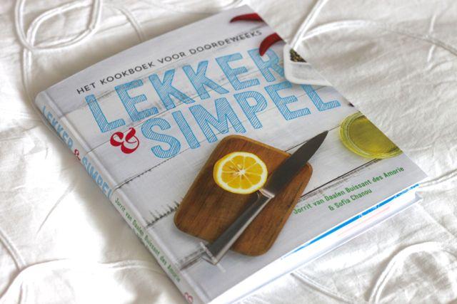 Lekker en simpel kookboek teddlicious for Kookboek lekker en simpel