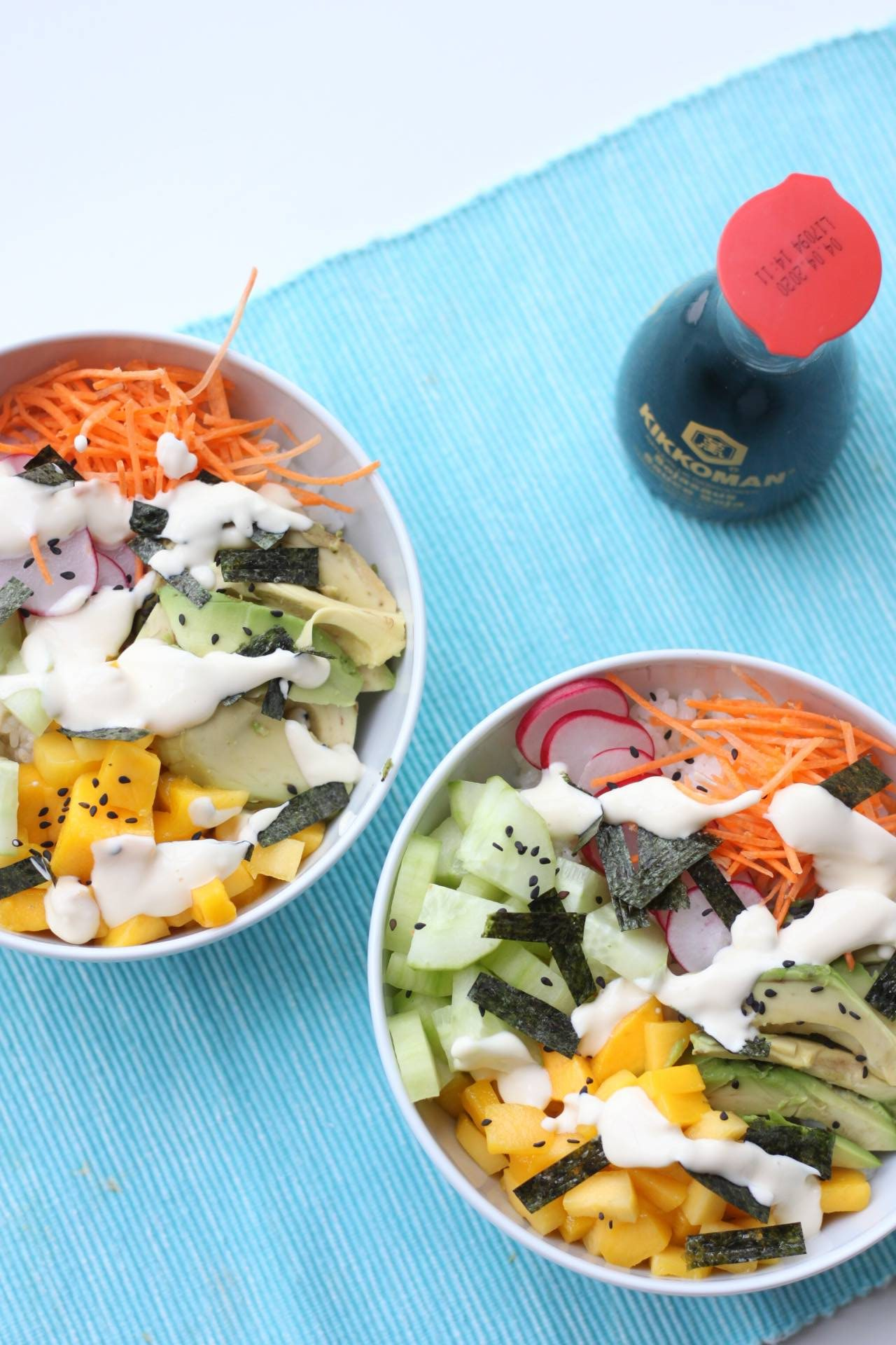 Recept: vegetarische sushi bowl