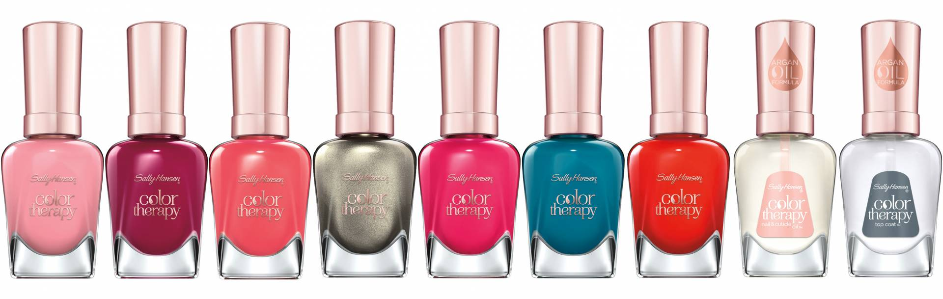 Sally Hansen Color Therapy Lazy Summer Collection all colours