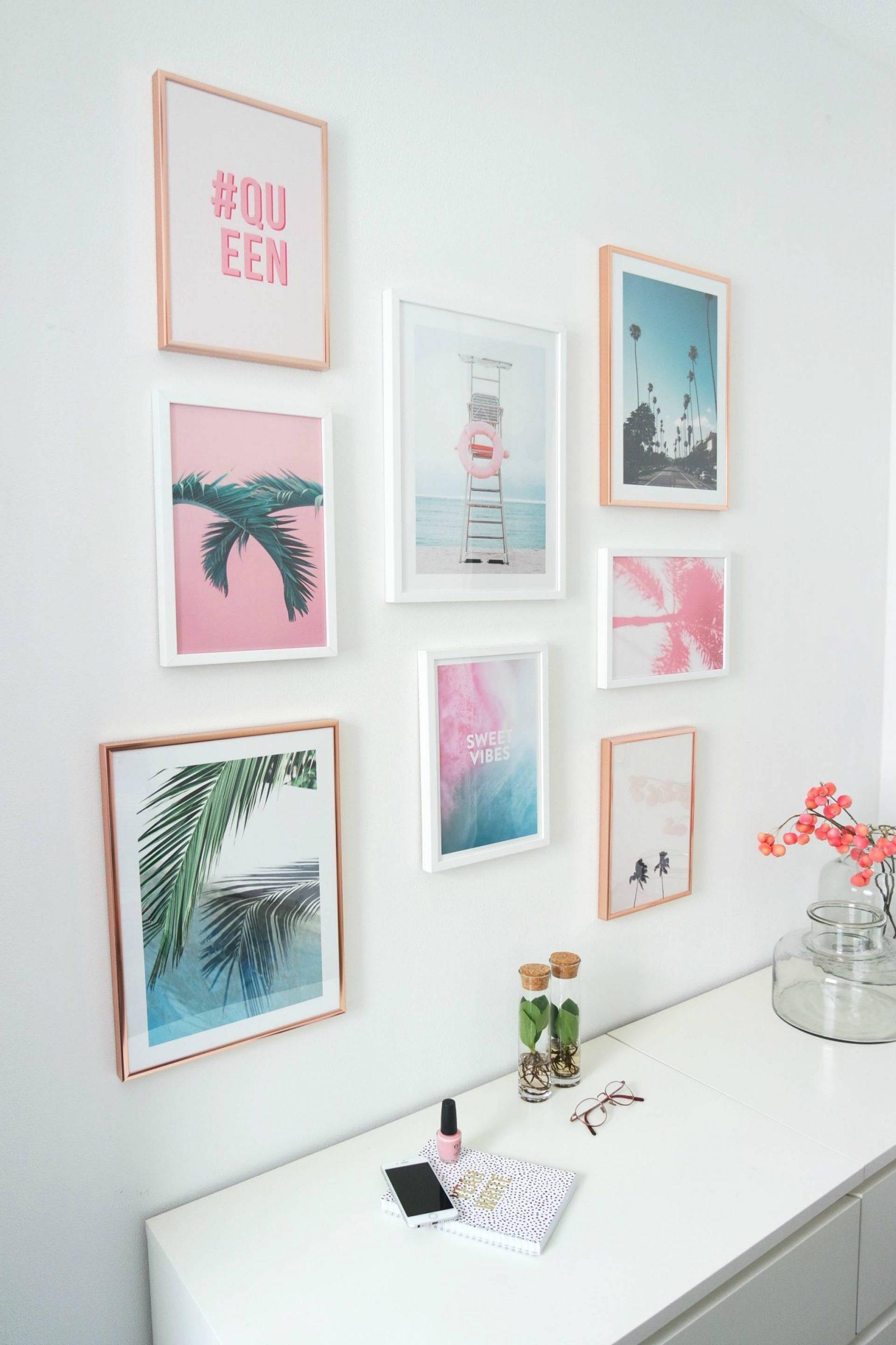 Office make-over met posters van Desenio