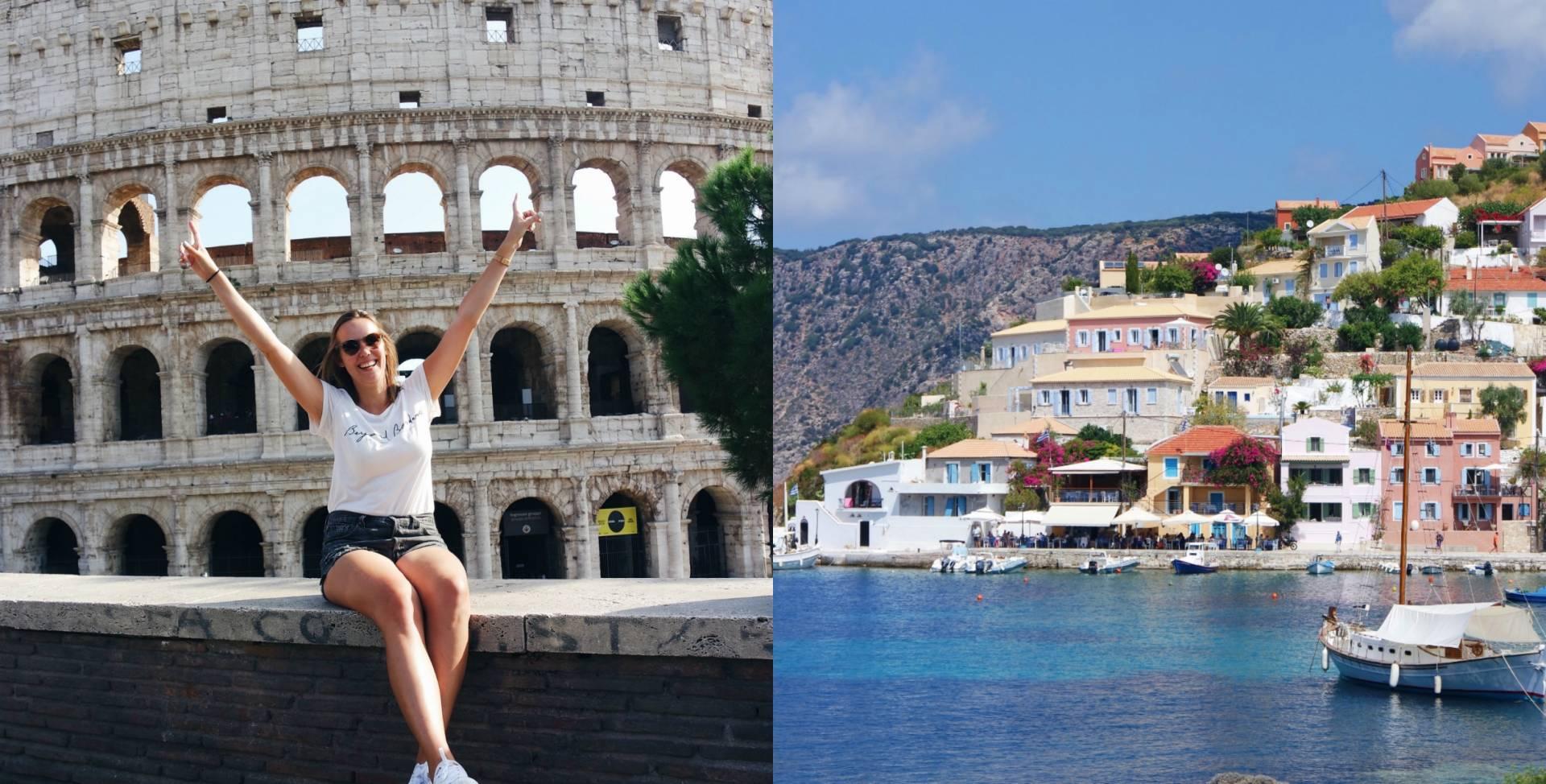 Take a look at my life XXL – Kefalonia & Rome