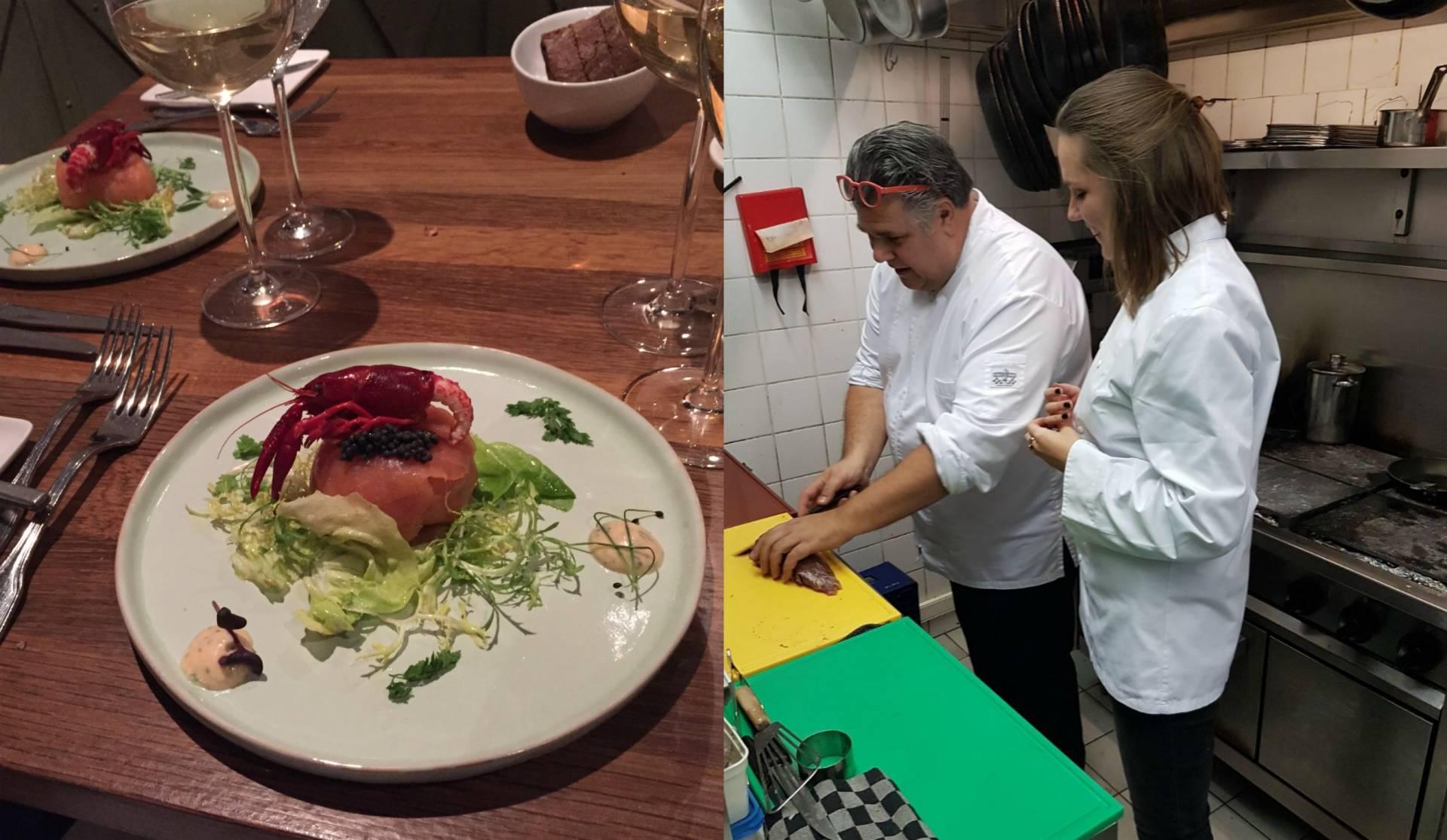 Plog 19 januari: fotoshoot en uit eten bij Restaurant Pakhoes