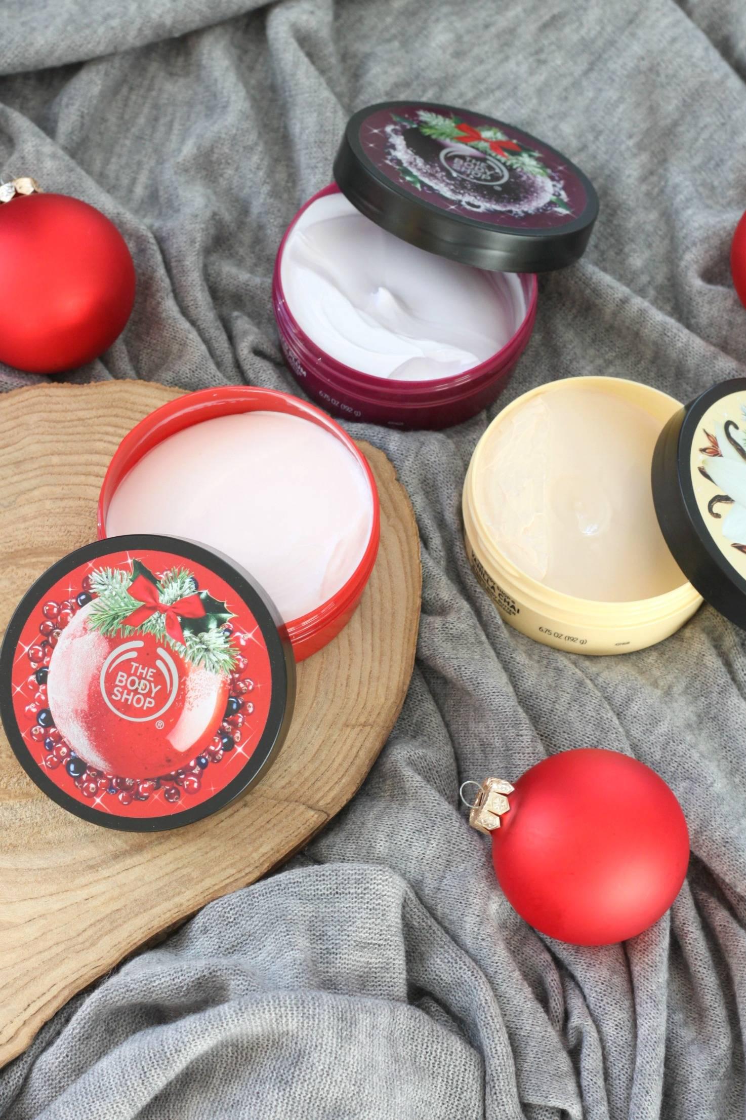 Verlanglijst tip: kerst body butters van The Body Shop 2017