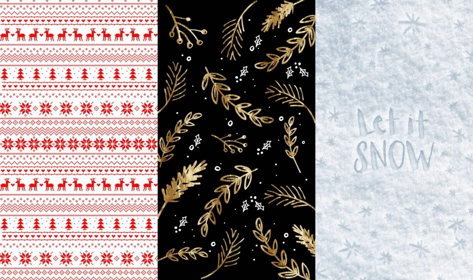 12 X Leuke Kerst Achtergrond Voor Je Smartphone Teddlicious